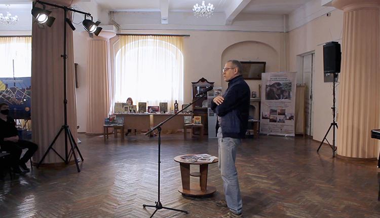 Творческая встреча Дмитрия Зотова